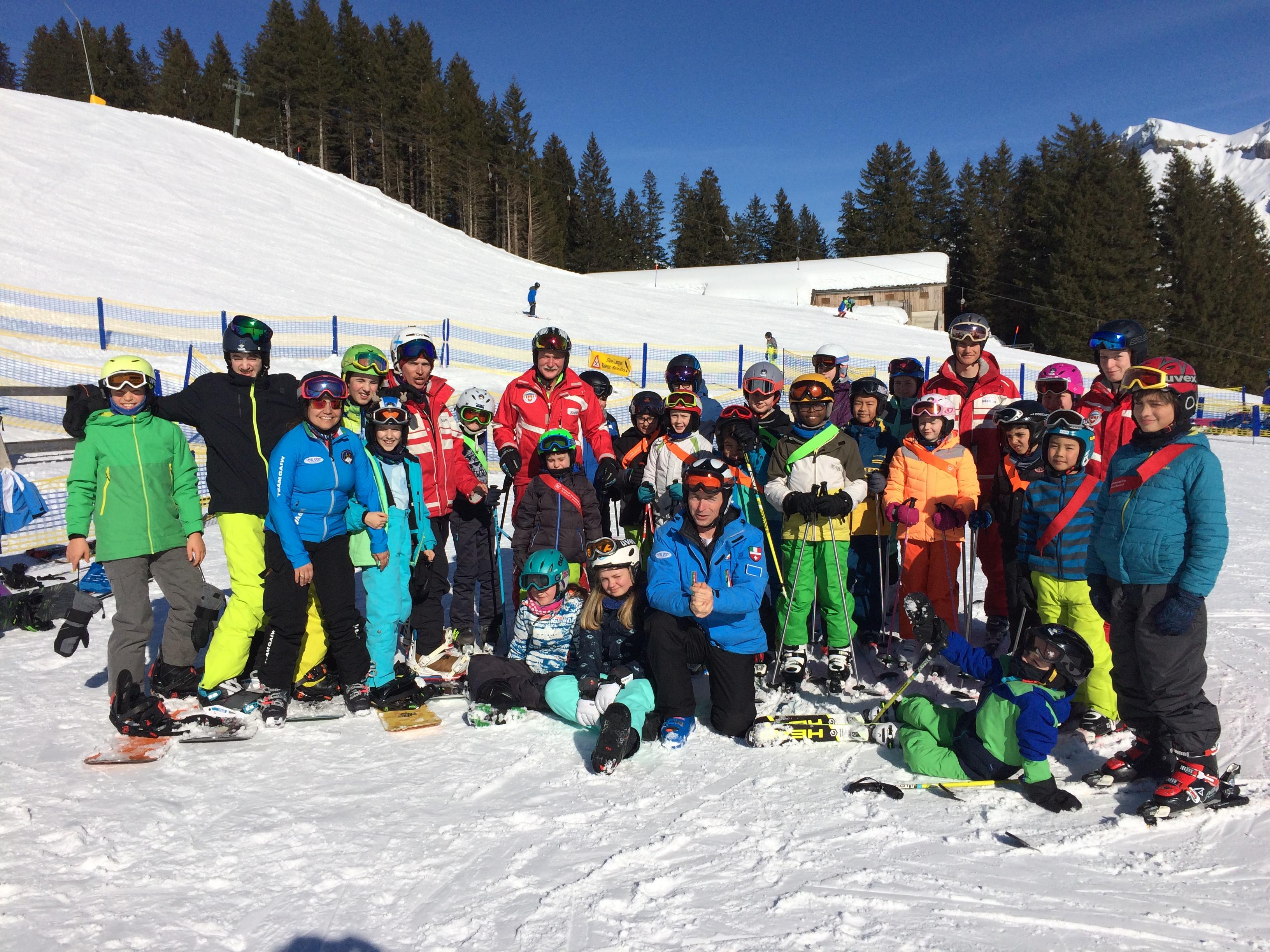DWS-Feriensportkurse im Schnee