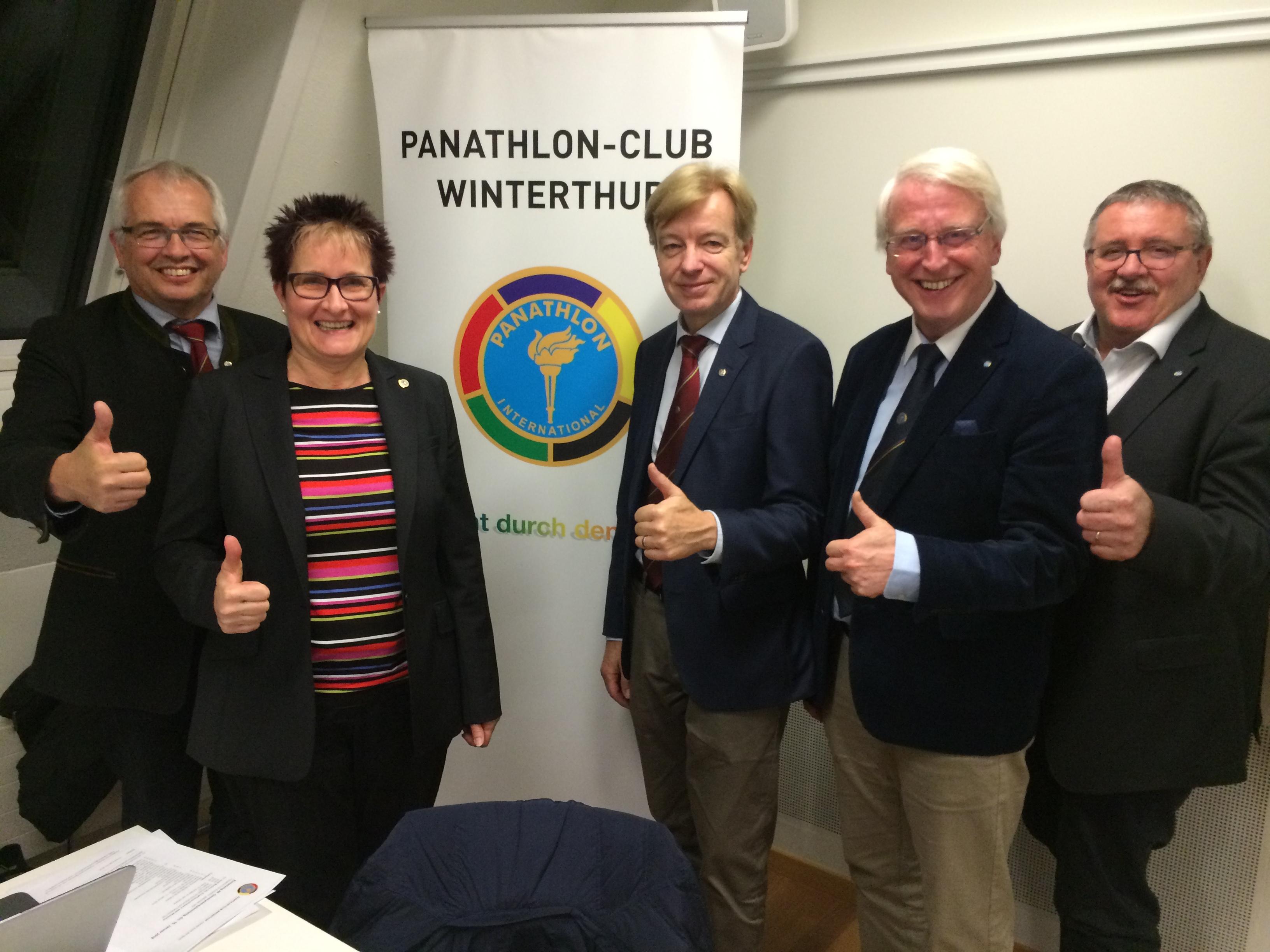 Der Panathlon-Club Winterthur jubiliert