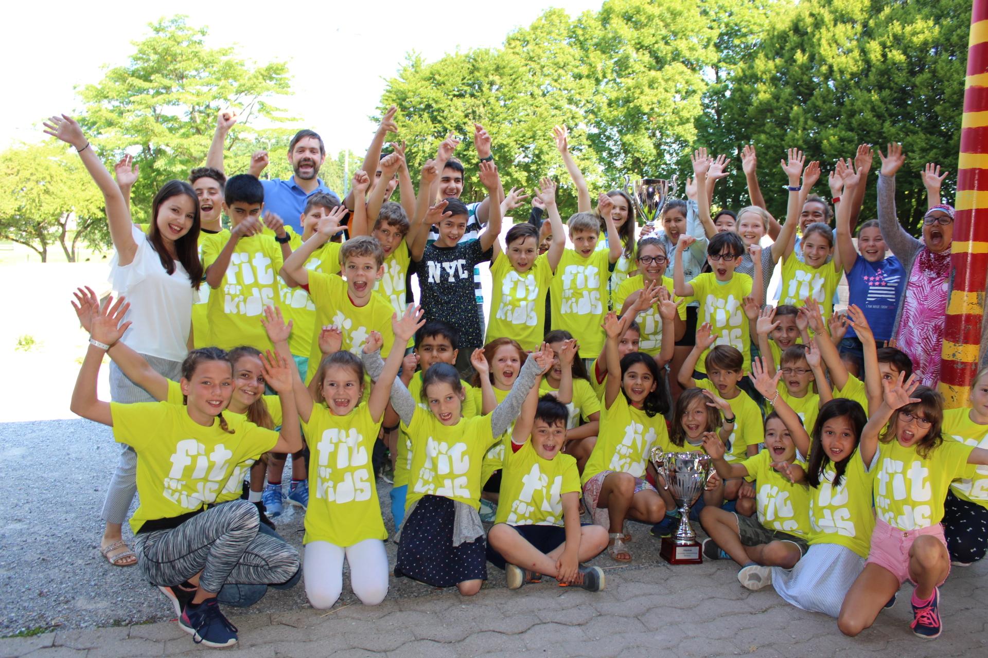 Winterthurs sportlichste Schulklasse ausgezeichnet