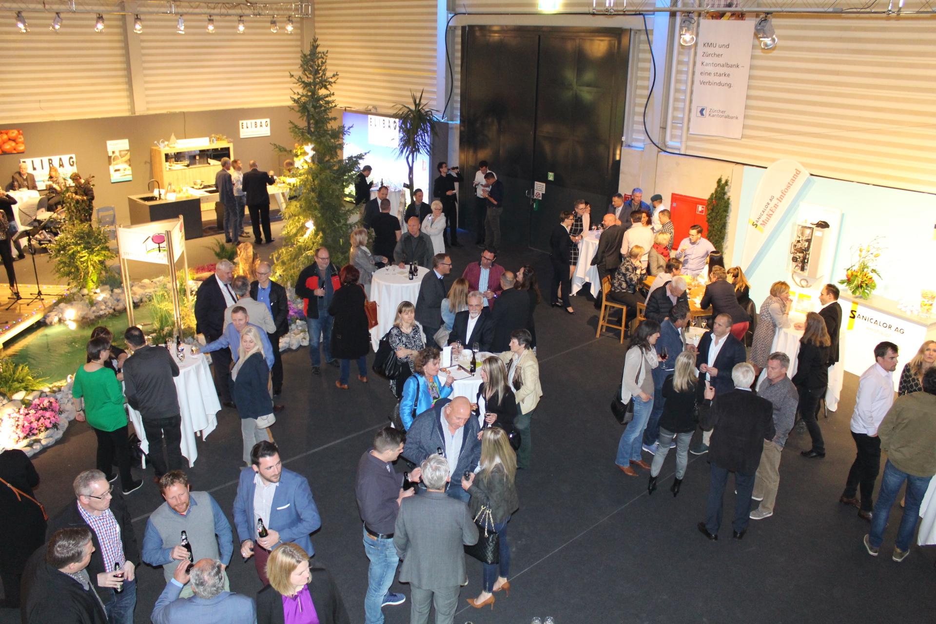 Winterthurer Frühlingsmesse WOHGA eröffnet