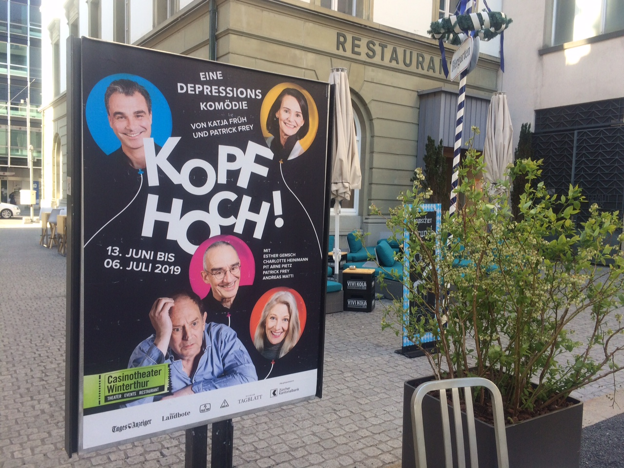 """Kopf hoch!"" im Casinotheater Winterthur"