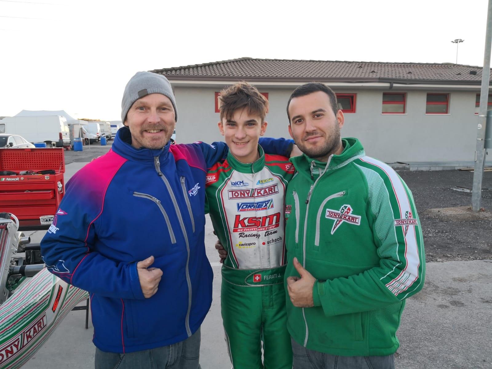 Jasin Ferati startet in neuem Team