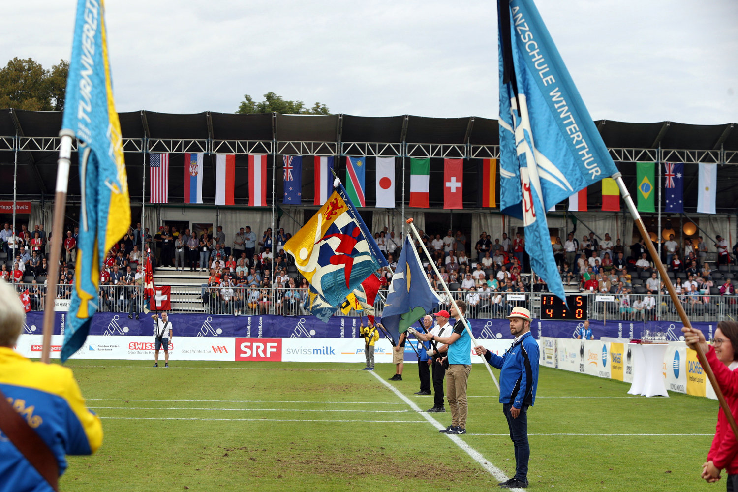 Tolle Faustball-WM in Winterthur