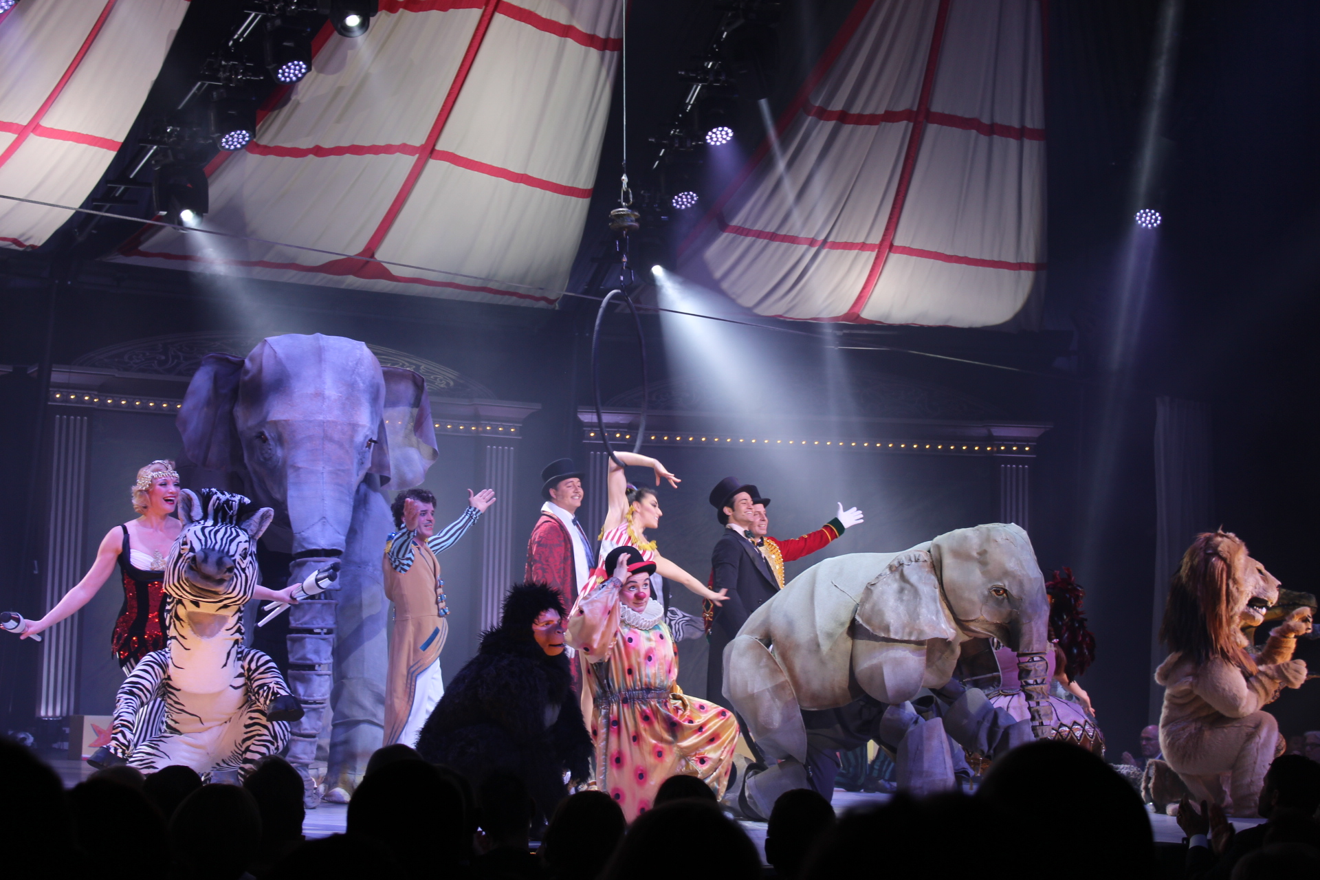 Welt-Uraufführung KNIE - Das Circus Musical