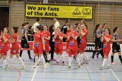 Red Ants Rychenberg Winterthur verliert 2. Halbfinalspiel