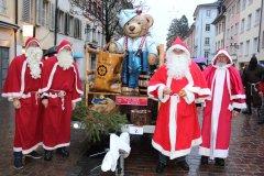 Fotostrecke: Chlauseinzug in der Winterthurer Altstadt