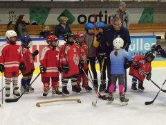 Fotostrecke: Eissport Open-Day in der Winterthurer Zielbau-Arena