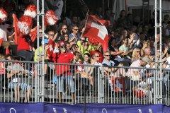 Fotostrecke: Tolle Faustball-WM in Winterthur