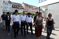 Fotostrecke: Frack-Umzug der ZHAW-Studenten in Winterthur